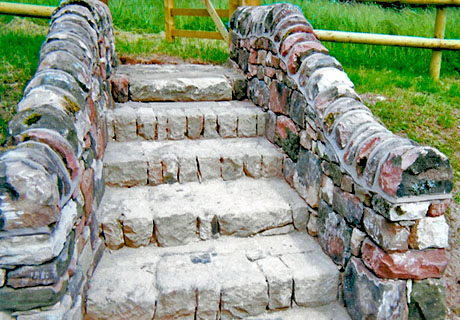 Natural dry stone steps natural dry stone walling by mark trumble natural stone garden steps workwithnaturefo